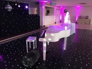 Piano Shell in Ballroom