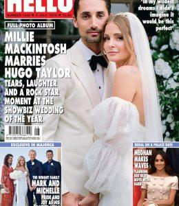 Hello Magazine: Sandra Lambert