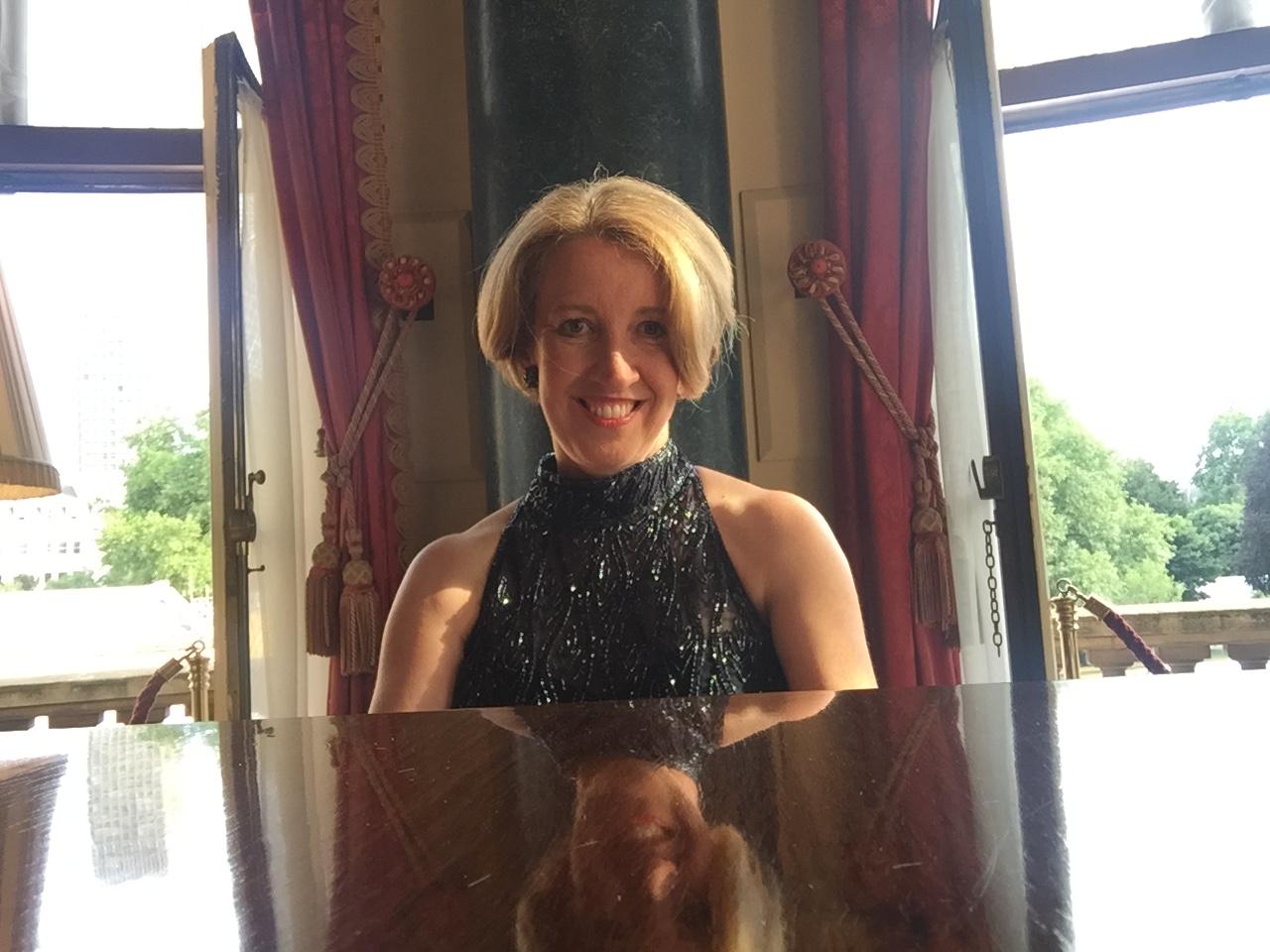Sandra Lambert at Buckingham Palace