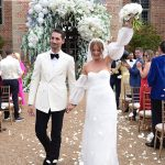 Punching the air during the Recessional